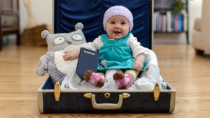 bepergian dengan bayi 3 bulan