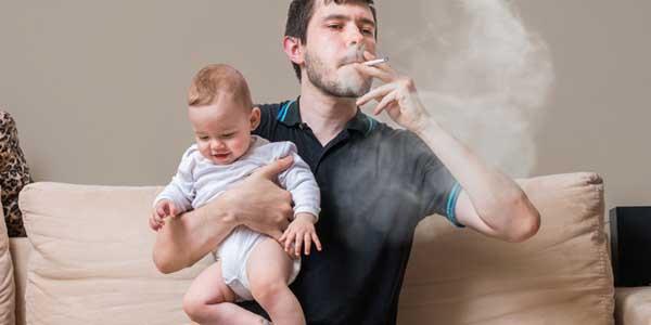 bahaya asap rokok pada anak