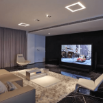 Mengubah Ruang Tamu Apartemen Menjadi Bioskop Mini