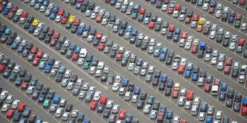 tempat parkir kendaraan