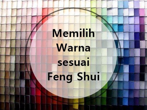 Memilih warna sesuai feng shui