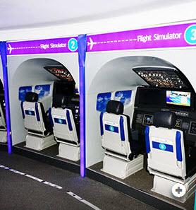 Flight Simulator Kidzania