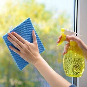 Cara membersihkan jendela