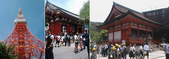 Perjalanan Tiga Nuansa Jepang