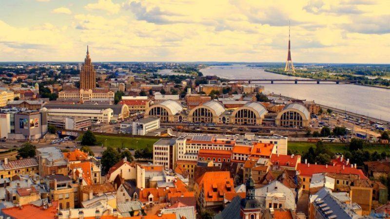 wisata ke Latvia