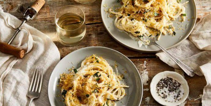 Carbonara dinner romantis